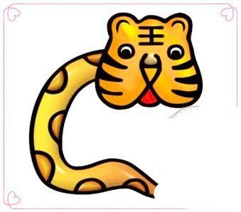 疯狂猜成语虎头蛇尾图片