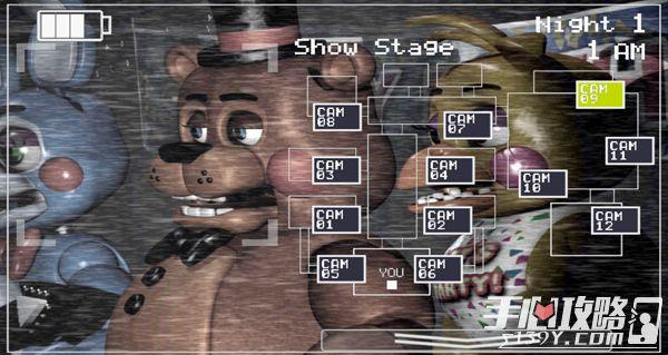 《玩具熊的五夜后宫2》所有玩偶先容
