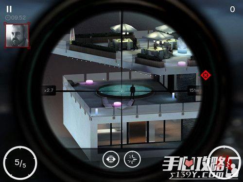 杀手:狙击第一章1-5关攻略