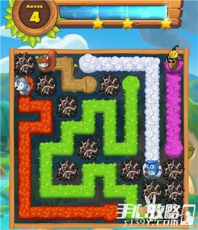 Forest Home森林之家第22关三星通关攻略