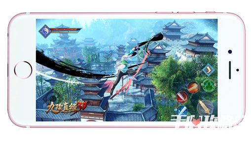 3D武侠自由江湖 蜗牛重磅发布新游《九阴真经3D》3