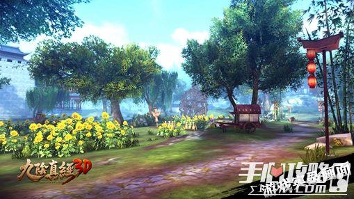 3D武侠自由江湖 蜗牛重磅发布新游《九阴真经3D》6