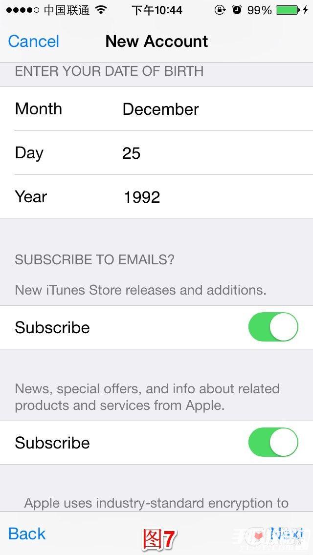 AppStore注册美区AppleID帐号教程详解10