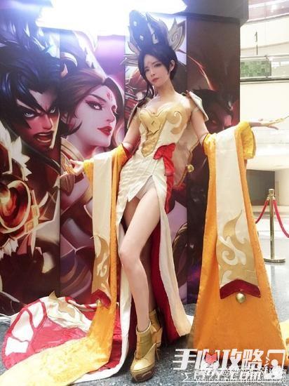 王者荣耀真人COS秀 暑期盛典精美cosplay汇总 2