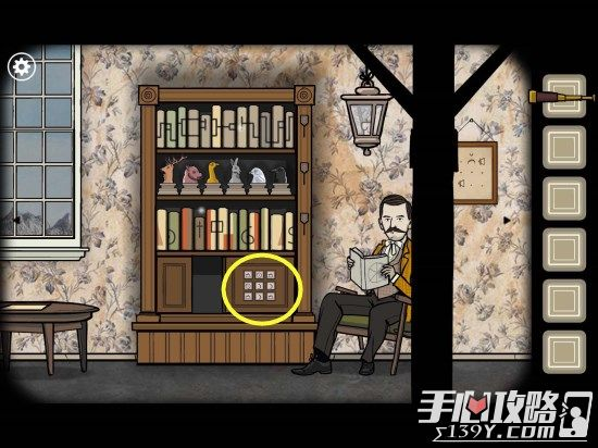 Rusty Lake Roots锈湖根源第4关The Stairscase图文攻略6