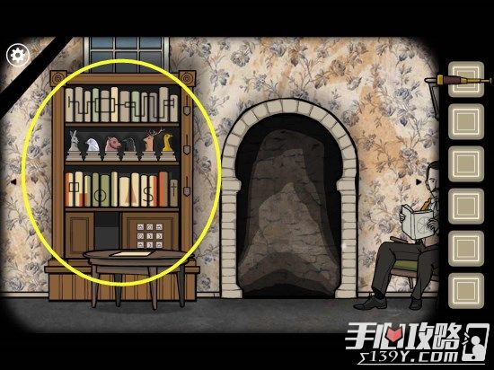 Rusty Lake Roots锈湖根源第4关The Stairscase图文攻略9