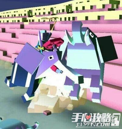 疯狂动物园骑乘大象忽视一切阻碍1