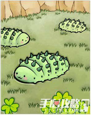 《仙境傳說RO》手遊卡片圖鑒之綠棉蟲卡片信息1