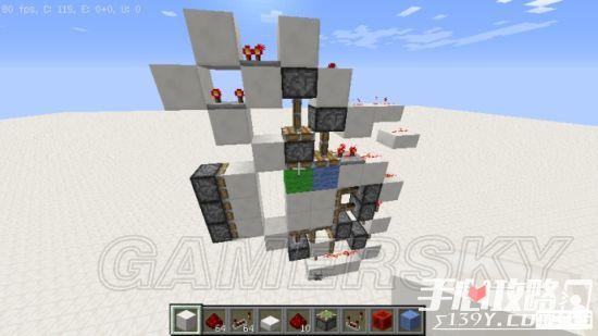 《我的世界》3x3活塞门建造详细图文教程 33