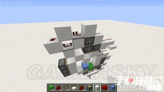 《我的世界》3x3活塞门建造详细图文教程 32