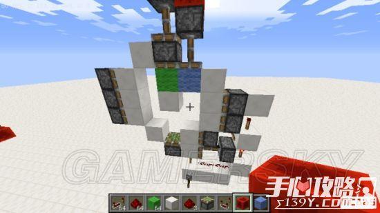 《我的世界》3x3活塞门建造详细图文教程 19