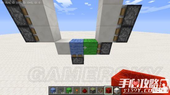 《我的世界》3x3活塞门建造详细图文教程 4