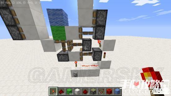 《我的世界》3x3活塞门建造详细图文教程 14
