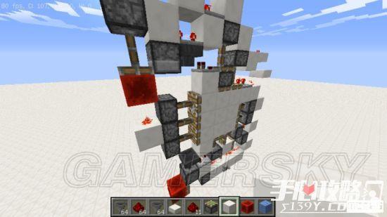 《我的世界》3x3活塞门建造详细图文教程 42