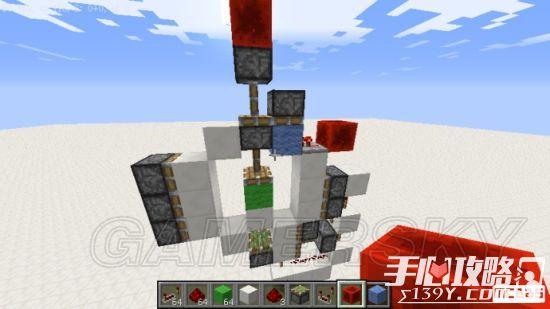 《我的世界》3x3活塞门建造详细图文教程 21