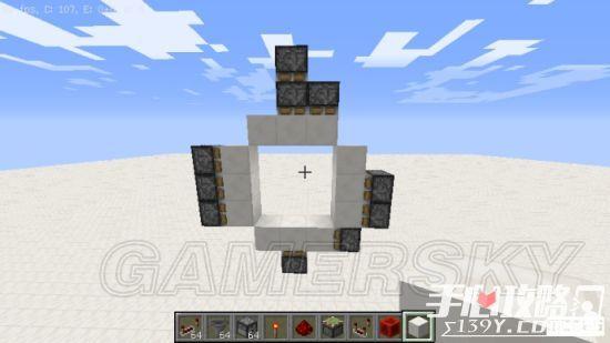 《我的世界》3x3活塞门建造详细图文教程 3