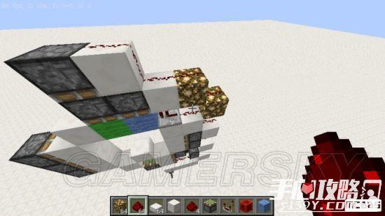 《我的世界》3x3活塞门建造详细图文教程 26