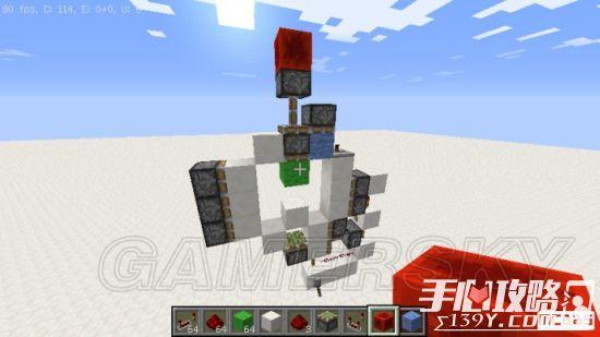 《我的世界》3x3活塞门建造详细图文教程 23