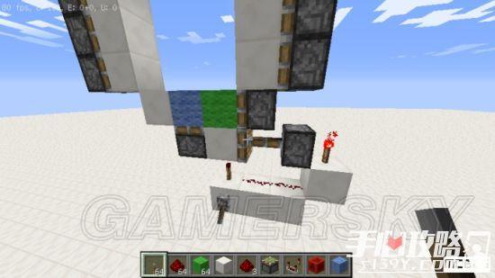 《我的世界》3x3活塞门建造详细图文教程 11