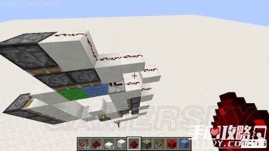 《我的世界》3x3活塞门建造详细图文教程 25