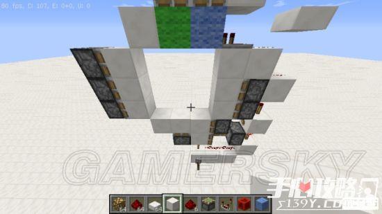 《我的世界》3x3活塞门建造详细图文教程 27