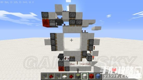 《我的世界》3x3活塞门建造详细图文教程 43