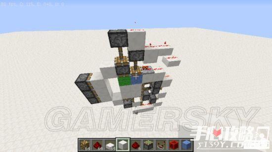 《我的世界》3x3活塞门建造详细图文教程 28
