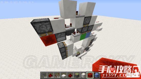 《我的世界》3x3活塞门建造详细图文教程 37