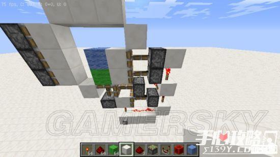 《我的世界》3x3活塞门建造详细图文教程 15
