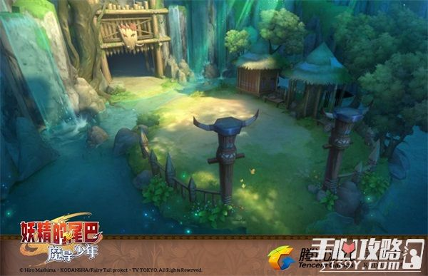 《妖精的尾巴:魔导少年》游戏场景曝光 高度还原动漫9