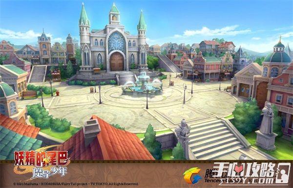 《妖精的尾巴:魔导少年》游戏场景曝光 高度还原动漫6