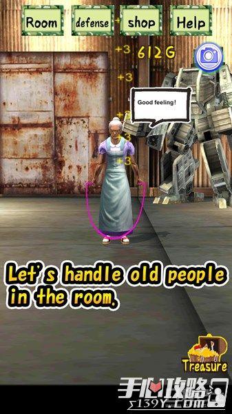 《强袭老奶奶》塔防手游上架 老奶奶开高达?3