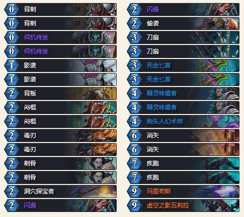炉石传说砰砰计划蓝龙贼卡组玩法代码一览1