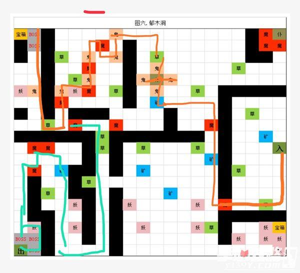 《想不想修真》地图郁木洞打法攻略地图资源攻略1