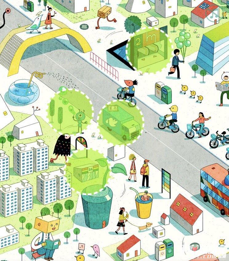 支付宝低碳城市寻宝记18个绿色场景位置介绍1