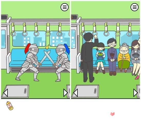 《地铁上抢座是绝对不可能的》:啊,这座位真香!1