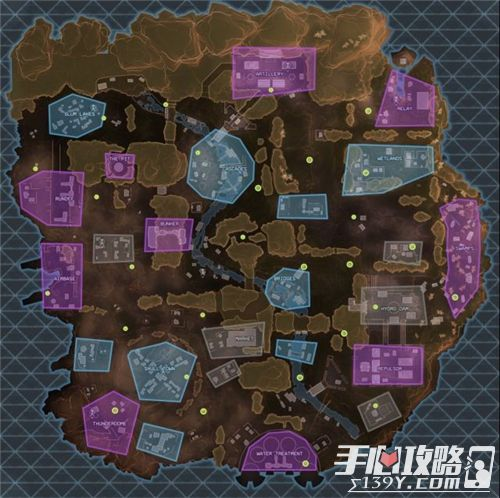 Apex英雄地图资源分布详细介绍1