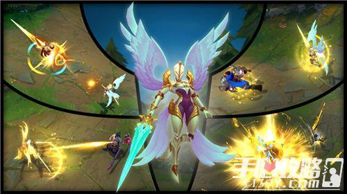 英雄联盟正义天使&堕落天使重做上线光与暗的交锋3