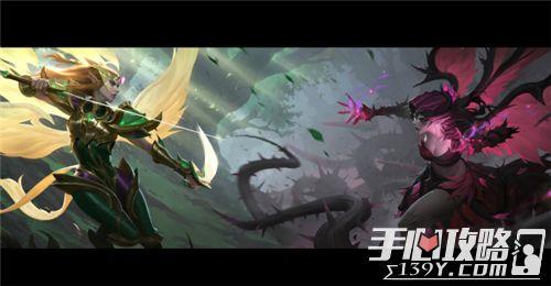英雄联盟正义天使&堕落天使重做上线光与暗的交锋4