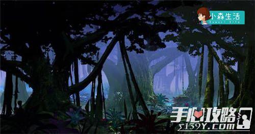 《小森生活》昼夜系统首曝 洒满月光的神秘森林2