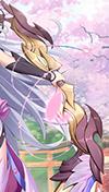 《空之旅人》魂使尤菲遇见精灵 遇见一次樱花飞舞的梦境4