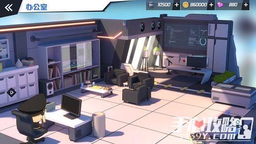 《苍蓝誓约》3D基建首次曝光 你与战姬的港湾家园1