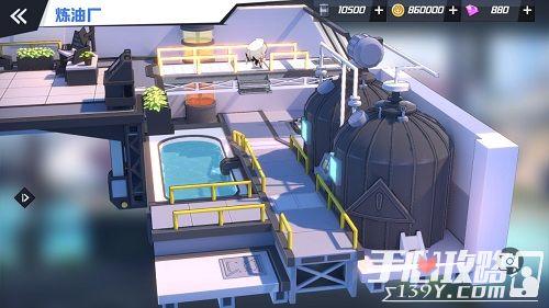 《苍蓝誓约》3D基建首次曝光 你与战姬的港湾家园6