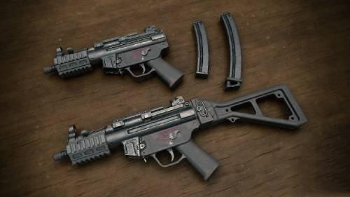 绝地求生刺激战场MP5K属性介绍