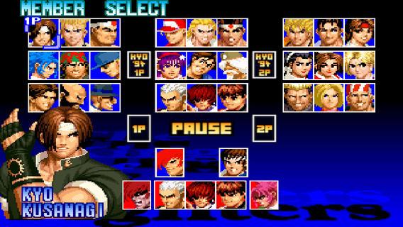 拳皇98手机版单机游戏