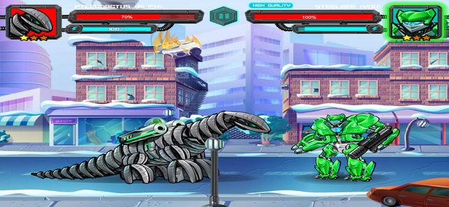 恐龙机器人大战