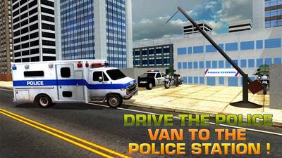 警察巴士模拟器