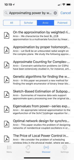 Researcher PRO for Note Taking