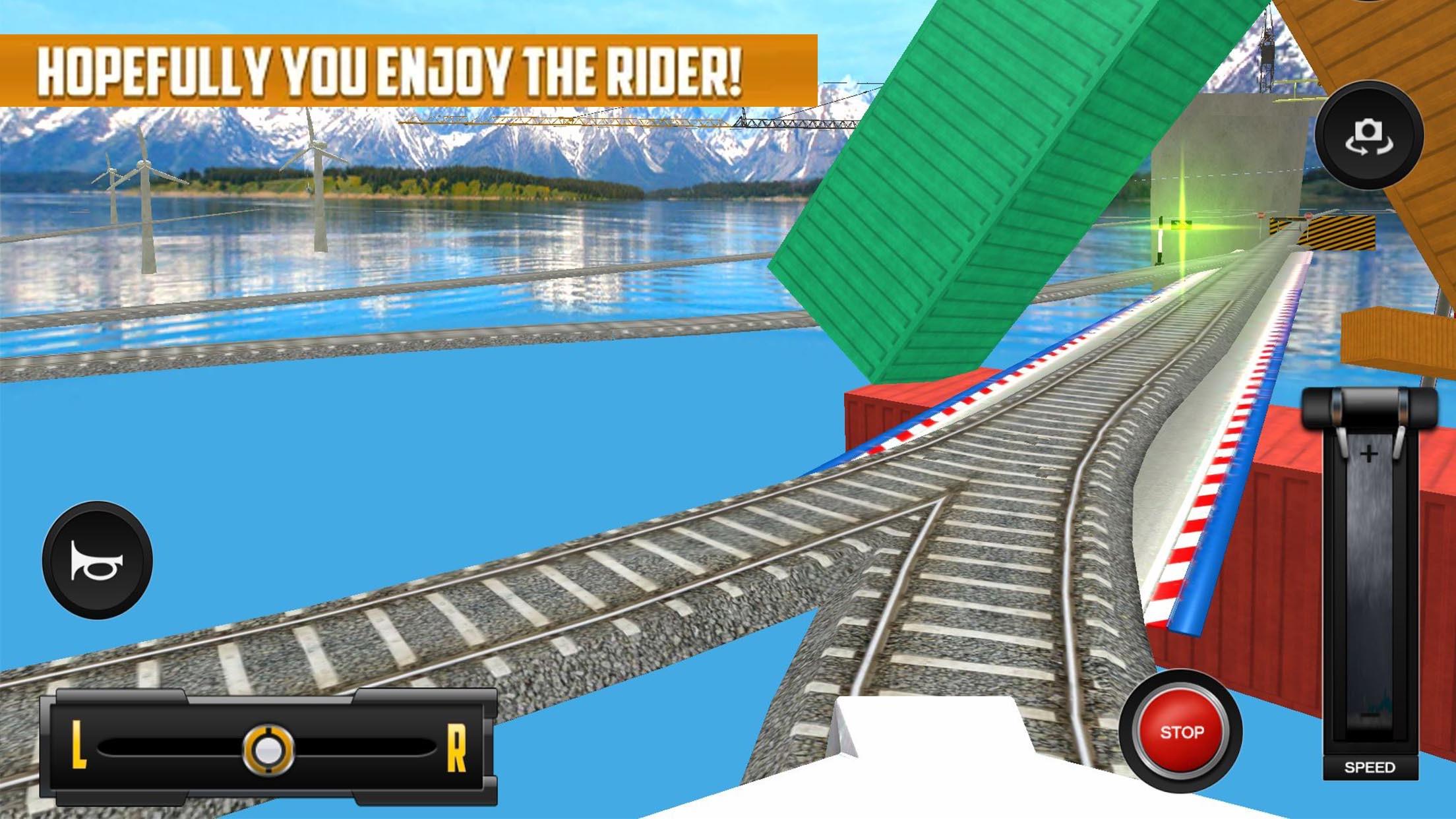 城市火车司机模拟