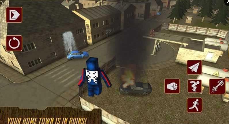 像素英雄蜘蛛侠